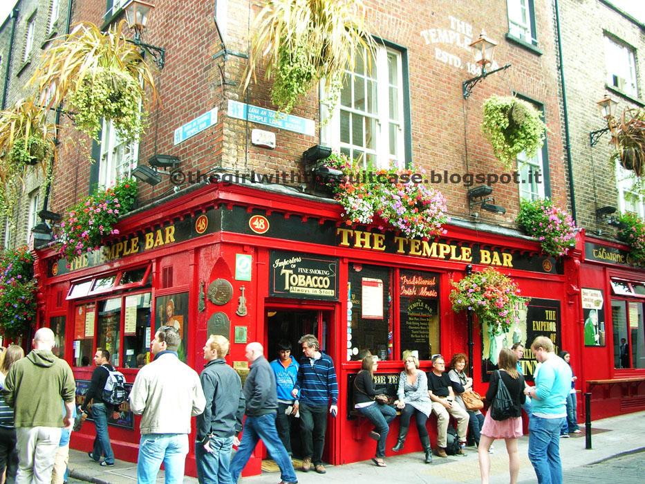 Temple Bar Dublino Irlanda