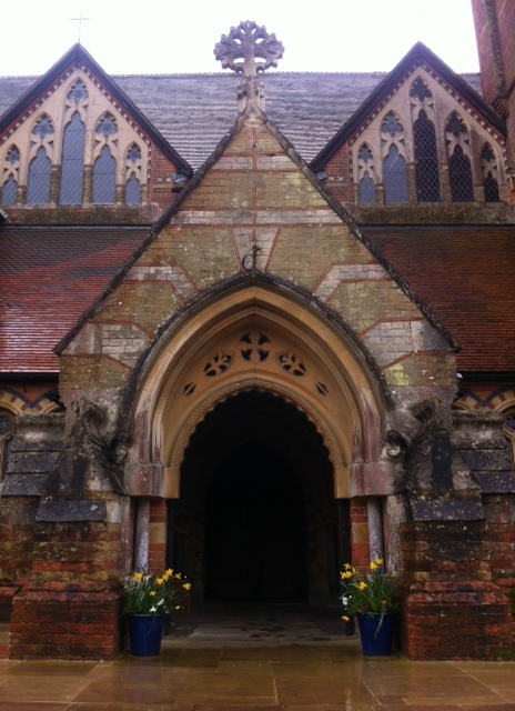 Lyndhurst Church entrance