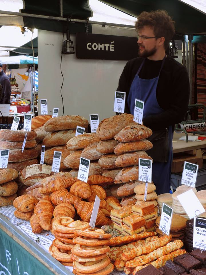Banco del pane al Borough Market - Photo by TheLondonHer
