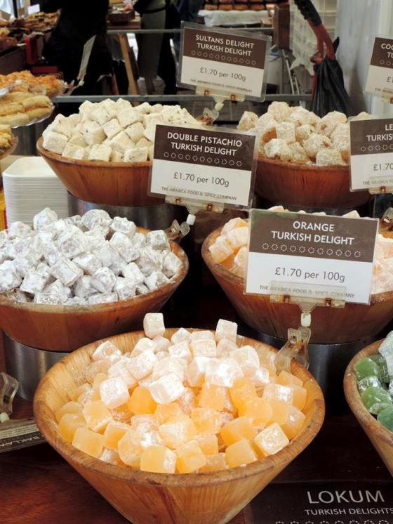Dolcetti turchi al Real Food Market - Photo by TheLondonHer