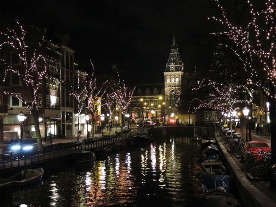 La sera ad Amsterdam