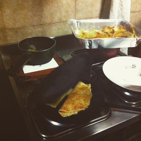 Preparazione delle miacce.