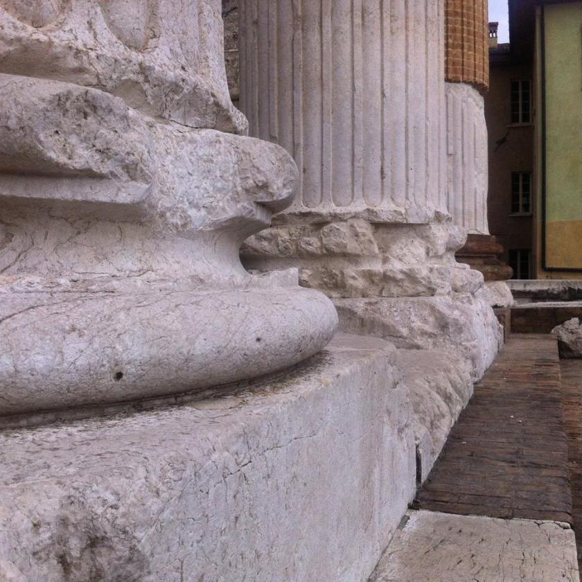 Dettagli del Capitolium - Brescia