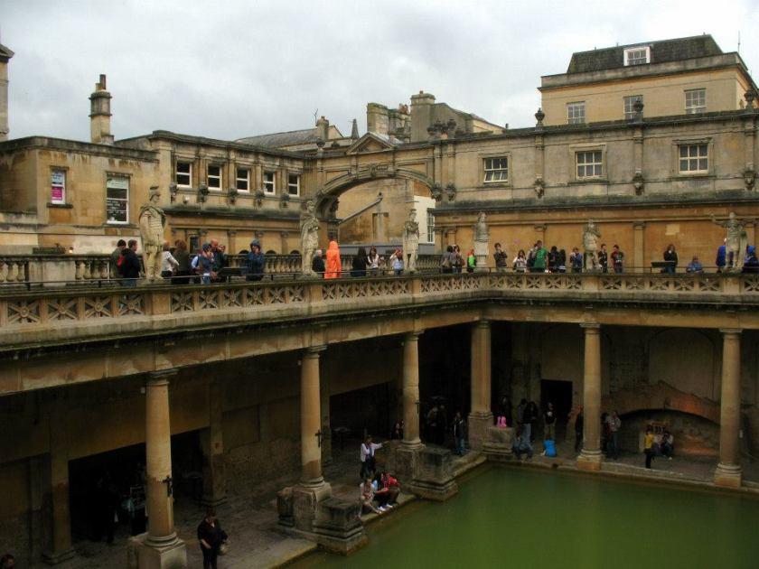 Roman bath oh Bath