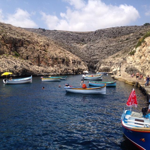 Blue Grotto Harbour